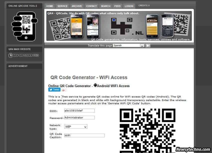 QR Code Wi-Fi access!