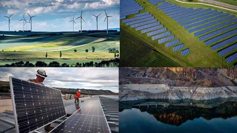Generating Renewable Energy From Solar Panel, Biomass And Hydrodam