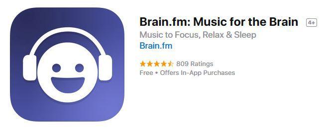 Brain.fm - Useful iPhone Apps