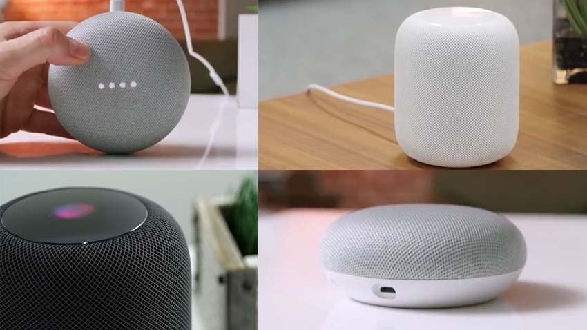 Apple Homepod vs Google Home Mini